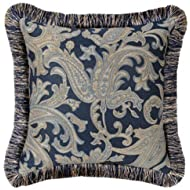 Jennifer Taylor Hampton Collection Pillow 18-Inch by 18-Inch