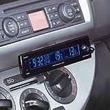セイワ(SEIWA) 電圧サーモ電波クロック+USB USB出力 電圧 外・内温度計 W852