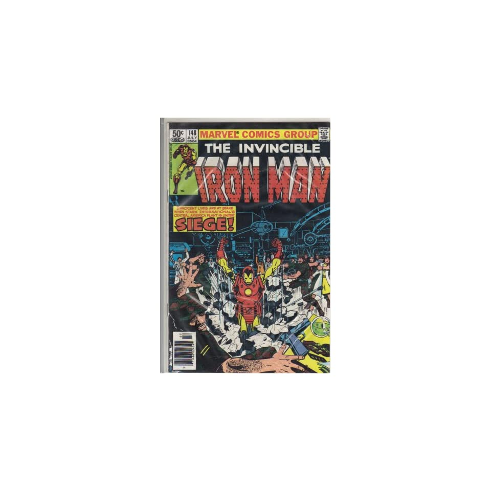 Iron Man #148 Comic Book