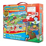The Learning Journey Puzzle Doubles Search and Learn Farm Floor Puzzle by The Learning Journey International