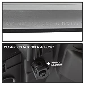 ACANII Passenger Side Only For 2011-2016 Ford F250 F350 F450 F550 SuperDuty Replacement Headlight Headlamp