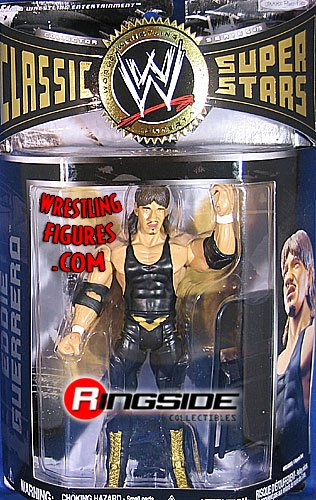 Buy Low Price Jakks Pacific WWE Wrestling Classic Superstars Series 19 Action Figure Lucha Libre Eddie Guerrero (B001G0439W)