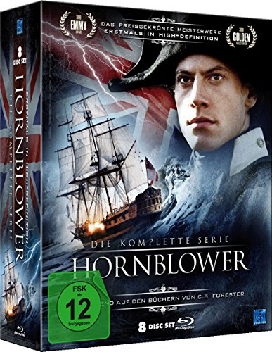Hornblower - Die komplette Serie in HD [8 Blu-rays im Digi-Pack]