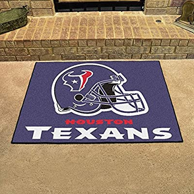 "Fan Mats 5730 NFL - Houston Texans 34"" x 45"" All-Star Series Area Rug / Mat"