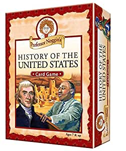 Educational Trivia Card Game - Professor Noggin's History of the United States