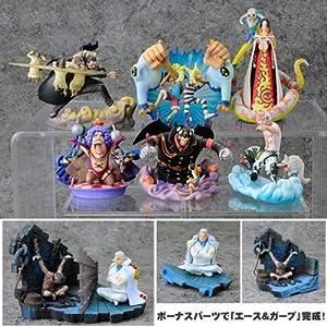 One Piece Logbox Impel Down Arc Mini-Dioramen / Figuren: Komplett-Set (6 + 1 Figuren)
