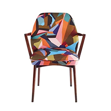 "Kitty McCall ""Ola Berry"" Bench/Chair, Wood, Multi-Colour"