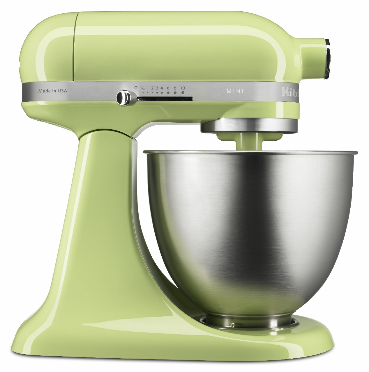 KitchenAid Artisan Mini 5KSM3311XBHW 3.3 Litre Stand Mixer (Honeydew)