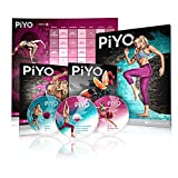 Chalene Johnsons PiYo Base Kit - DVD Workout with Excercise Videos + Fitness Tools and Nutrition Guide