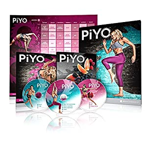 Amazon.com : Chalene Johnson's PiYo Base Kit - DVD Workout with Exercise Videos + Fitness Tools