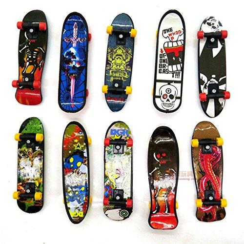 UBenZ Mini Skateboard Doigt-Modèle Aléatoire-10 Pièces