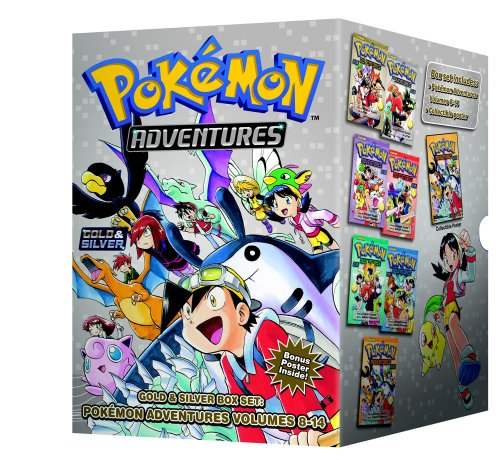 Pokemon Adventures Gold & Silver Box Set (set includes Vol. 8-14) (Pok mon)