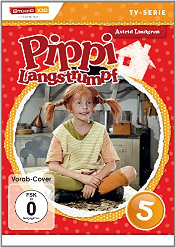 Pippi Langstrumpf - TV-Serie, DVD 5