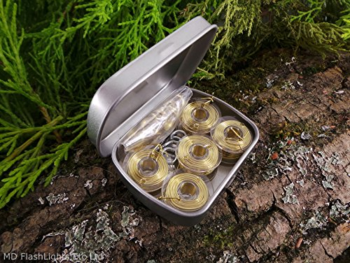 25-metre-brass-snare-wire-hunting-kit-tin-bushcraft-survival-camping-hiking-edc