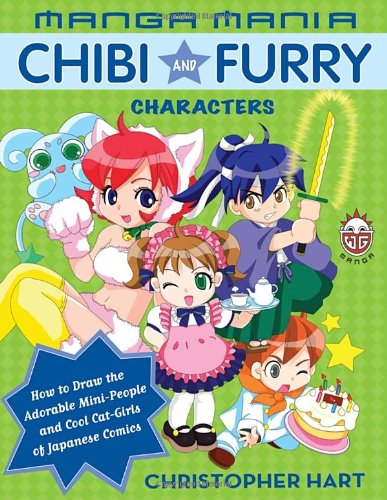 Manga Mania: Chibi and Furry Characters: How to Draw the Adorable Mini-characters and Cool Cat-girls of Japanese Comics (Drawing Furries compare prices)