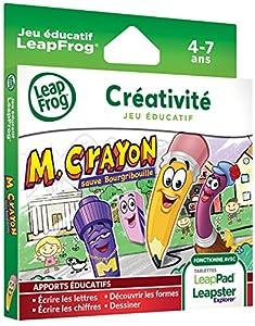 Leapfrog - 89014 - Jeu Educatif Electronique - LeapPad / LeapPad 2 / Leapster Explorer - Jeu - Mr Crayon