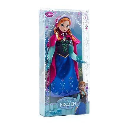 Disney officiel am?ricain Disney congel?e Anna Anna Poup?e Classique Figure Doll (japon importation)