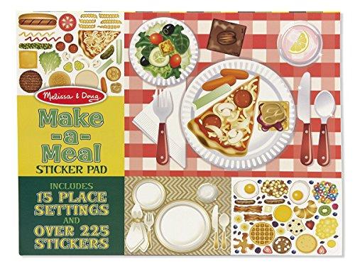 Melissa & Doug Make-a-Meal Sticker Pad (Sticker Pads compare prices)