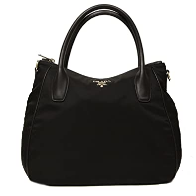 prada vachetta bicolor shoulder bag