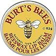 Burt's Bees 100% Natural Lip Balm Tin, Beeswax, 8.5g