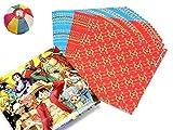 【クリスマス景品】 ワンピース折り紙(20枚入り) 50入り   / お楽しみグッズ(紙風船)付きセット [おもちゃ&ホビー]