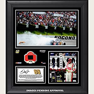 Dale Earnhardt Jr. 2014 Pocono 400 at Pocono Raceway Race Winner Framed 15
