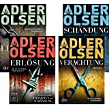 Adler Olsen Quadrilogie Erbarmen Schndung Erlsung Verachtung Fall 1 2 3 4 fr Carl Mrck Sonderdezernat Q