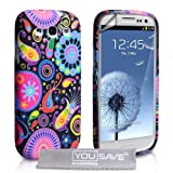 Samsung Galaxy S3 Case Jellyfish Silicone Cover With Screen Protectorby Yousave Accessories