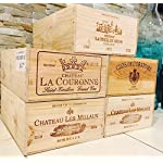 5 French Original Twelve count Bottles Wine Crates