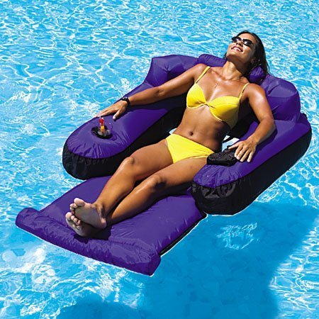 New Swimline 9047 Swimming Pool Fabric Inflatable Ultimate Floating Lounger by Swimline kaufen
