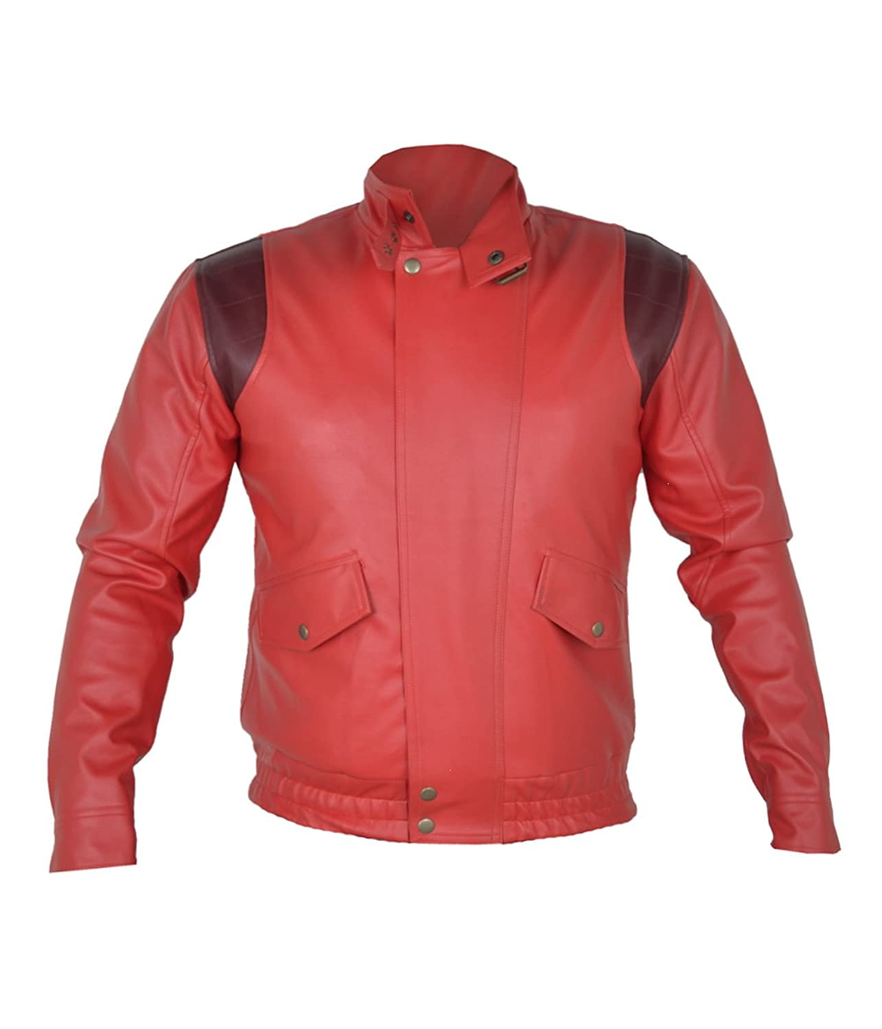 Akira Manga V3 Full Red Real Sheep Leather Jacket With Capsule only