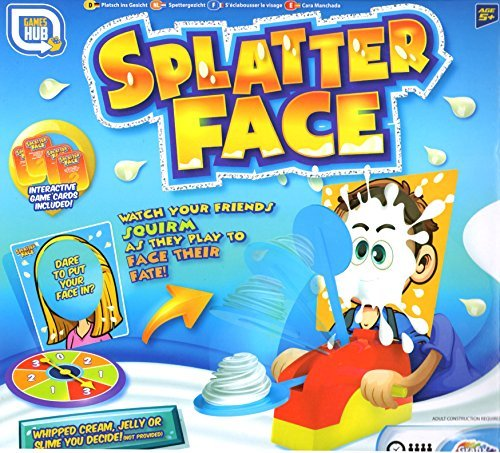 Games Hub Splatter Face Pie Splatting Family Fun