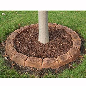 Simulated Stone Block Edging Kit & Tree Ring