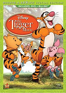 The Tigger Movie: Bounce-A-Rrrific Special Edition (Two-Disc Blu-ray/DVD Combo in DVD Packaging)