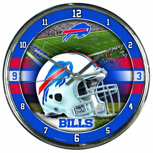 NFL Buffalo Bills Chrome Clock