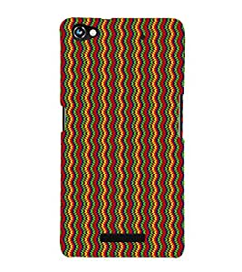 Current Water Design Cute Fashion 3D Hard Polycarbonate Designer Back Case Cover for Micromax CanvasHue2A316