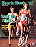 Mary Decker Slaney Autographed Signed Sports Illustrated Magazine Olympics - Beckett Certified