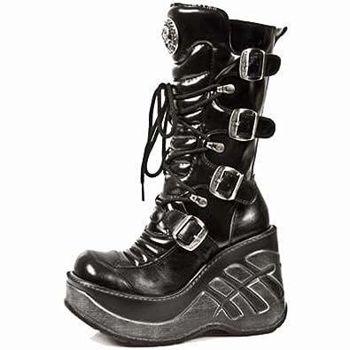 New Rock Cuna Sport Noir Bottes M.9873 S1Chaussures  et Sacs