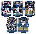 2015 Donruss Baseball Cards Toronto Blue Jays Series 1 Team Set of 5 Cards: Josh Donaldson , Edwin Encarnacion , Jose Bautista , Melky Cabrera , R.A. Dickey ,