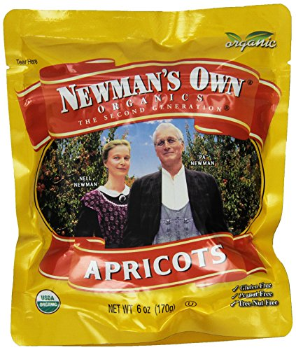 Newman's Own Organics Mediterrannean Dried Apricots, 6-Ounce (Dried Organic Fruit compare prices)