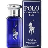 Ralph Lauren Eau de Toilette Spray for Men, Polo Blue, 1 Ounce (Tamaño: 1 oz)
