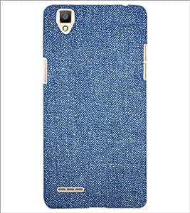 PrintDhaba Denim D-2411 Back Case Cover for OPPO F1 (Multi-Coloured)