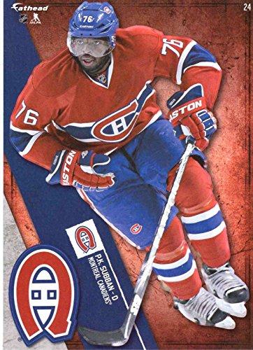 NHL 2015 P.K. SUBBAN MONTREAL CANADIENS Mini Fathead + Mini Pennant - 1