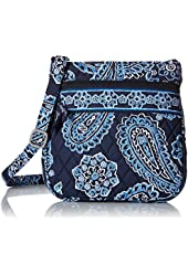 Vera Bradley Petite Double Zip Hipster Cross Body Bag