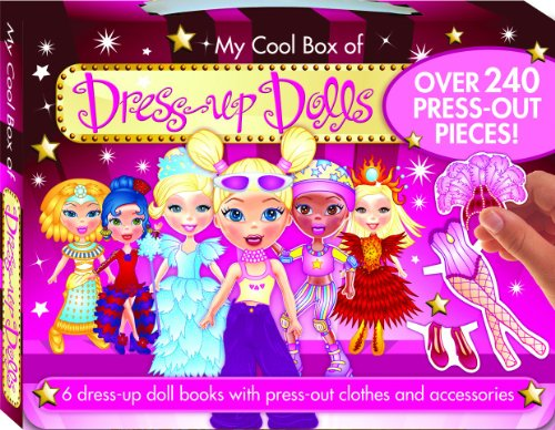 My Cool Box of Dress Up Dolls (Carry Box Series)