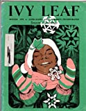 img - for IVY LEAF Alpha Kappa Alpha Sorority, Inc. Winter 1978 book / textbook / text book