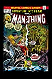 img - for Man-Thing by Steve Gerber: The Complete Collection Vol. 1 book / textbook / text book