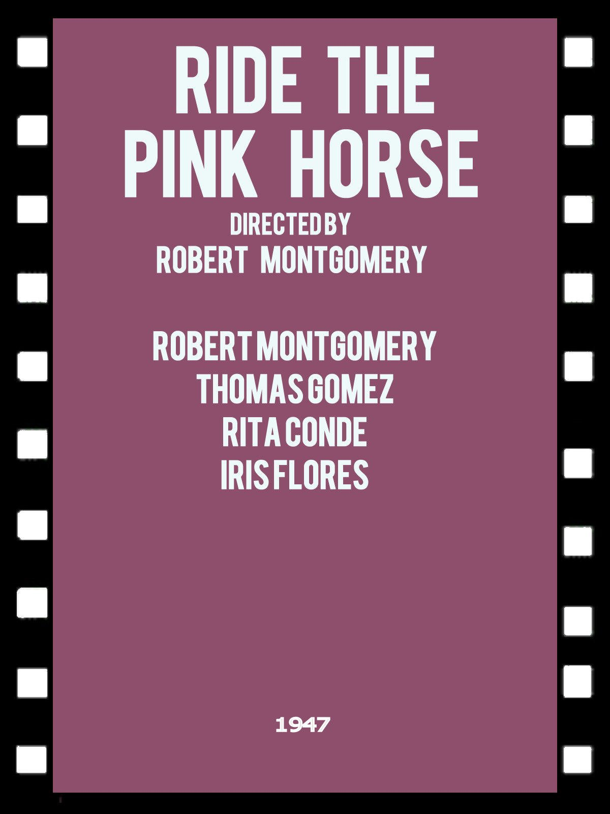 Ride the Pink Horse on Amazon Prime Video UK