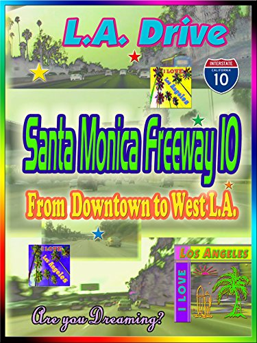 Clip: L.A. Drive Santa Monica Freeway 10 from Downtown to West L.A.