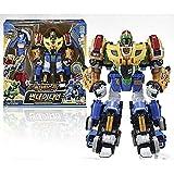 [ヨントイス] Young Toys Biklonz Thunder Guardian 3段合体 変身 ロボット 速い配送 (海外直送品)